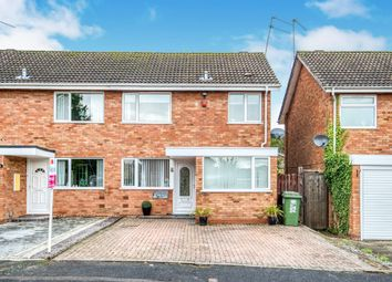 Thumbnail 3 bed semi-detached house for sale in Atcham Close, Winyates East, Redditch