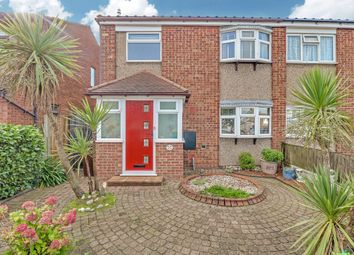 Thumbnail 3 bed semi-detached house for sale in Overton Road, Benfleet