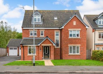 Thumbnail 5 bed detached house for sale in Lupin Drive, Huntington, Cannock, Staffordshire