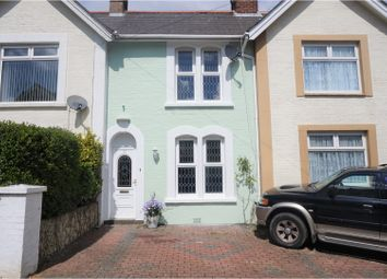 Thumbnail 2 bed terraced house for sale in Hatherton Road, Shanklin