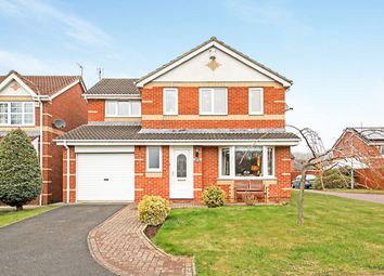 Thumbnail 4 bed detached house for sale in Dearham Grove, Cramlington, Northumberland