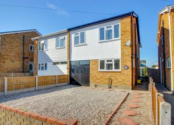 Thumbnail 4 bed semi-detached house for sale in Mandeville Way, Benfleet