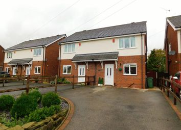Thumbnail 2 bed semi-detached house for sale in Old Road, Weston, Stafford