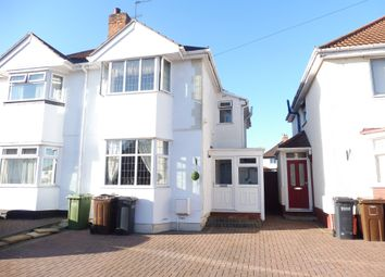 Thumbnail 3 bed semi-detached house for sale in Howard Road, Solihull