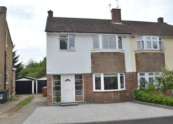 Thumbnail 3 bed semi-detached house for sale in Coates Way, Watford