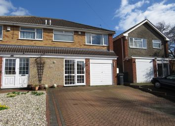 Thumbnail 3 bed semi-detached house for sale in Mickleton Road, Solihull