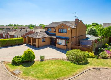 Thumbnail 4 bed detached house for sale in Water Meadow Close, Great Oakley, Corby