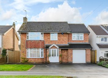 Thumbnail 4 bed detached house for sale in Goodes Lane, Syston, Leicester