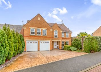 Thumbnail 5 bed detached house for sale in The Longlands, Market Harborough