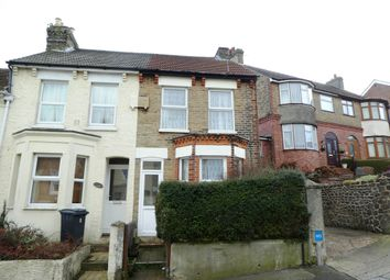 Thumbnail 2 bed end terrace house for sale in Longfield Road, Dover, Kent