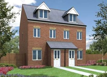 "Thumbnail 3 bed town house for sale in ""The Souter"" at Bedale Court, Morley, Leeds"