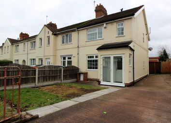 Thumbnail 3 bed town house for sale in Elm Street, Willenhall