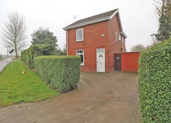 Thumbnail 3 bed detached house for sale in Field Road, Crowle, Scunthorpe