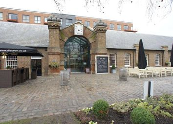 Thumbnail 3 bed flat to rent in West Carriage House, Wellington Avenue, Woolwich, London