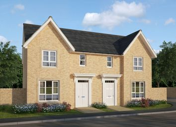 "Thumbnail 3 bed semi-detached house for sale in ""Urquhart"" at Ravenscliff Road, Motherwell"