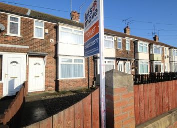 Thumbnail 2 bed terraced house for sale in Hedon Road, Hull, East Yorkshire.