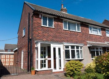 Thumbnail 3 bed semi-detached house for sale in Uplands Avenue, Werrington, Staffordshire