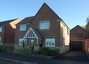 Thumbnail 4 bedroom detached house for sale in Cowley Meadow Way, Crick, Northampton
