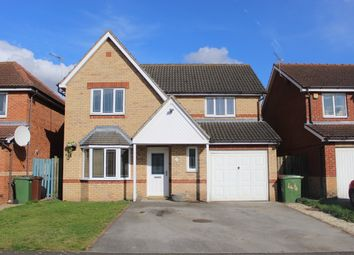 Thumbnail 4 bed detached house for sale in Lindsey Drive, Crowle, Scunthorpe