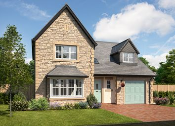 "Thumbnail 4 bed detached house for sale in ""Taunton"" at Mayfield Avenue, Throckley, Newcastle Upon Tyne"