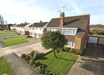 Thumbnail 3 bed semi-detached house for sale in Emlyn Road, Horley, Surrey