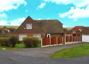 Thumbnail 4 bedroom detached house for sale in Michel Dene Road, East Dean, Eastbourne