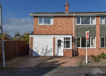 Thumbnail 3 bed semi-detached house for sale in New Road, Bromsgrove