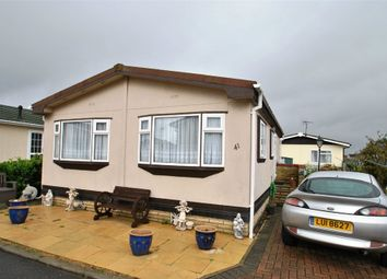 Thumbnail 1 bed mobile/park home for sale in Kingsmead Park, Coggeshall Road, Braintree, Essex