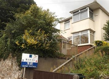 Thumbnail 4 bed detached house to rent in Cardiff Road, Newport, Newport.