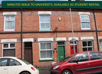 Thumbnail 2 bed terraced house for sale in Ripon Street, Off London Road, Leicester