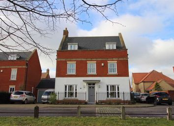 Thumbnail 5 bed detached house for sale in Mansbrook Boulevard, Ipswich