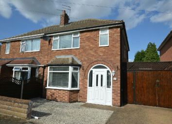 Thumbnail 3 bed semi-detached house for sale in Westdale Avenue, Glen Parva, Leicester