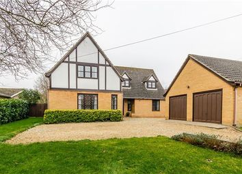 Thumbnail 4 bedroom detached house for sale in Lode Way, Haddenham, Ely