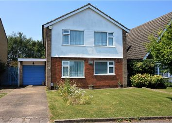 Thumbnail 4 bedroom detached house for sale in Felstead Way, Luton