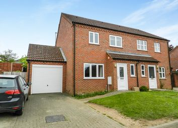 Thumbnail 4 bedroom semi-detached house for sale in Olivia Close, Fakenham