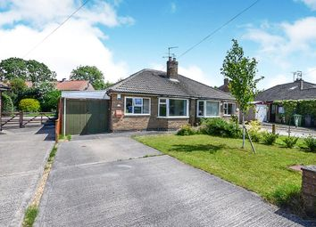 Thumbnail 2 bed bungalow for sale in Danebury Crescent, York