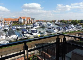 Thumbnail 3 bed terraced house to rent in Marina Court, Burton Waters, Lincoln
