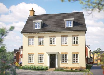 """Thumbnail 5 bed detached house for sale in """"The Warwick"""" at Steppingley Road, Flitwick, Bedford"""