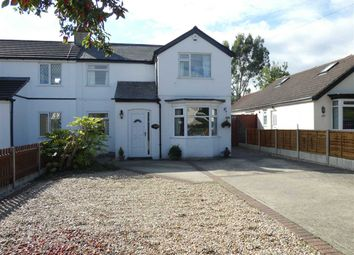 Thumbnail 4 bed semi-detached house for sale in Louth Road, Scartho, Grimsby