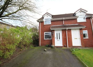Thumbnail 2 bed semi-detached house for sale in Leaside Close, Rochdale