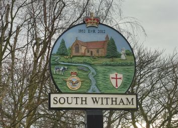 Thumbnail 3 bed end terrace house for sale in Thistleton Lane, South Witham, Grantham