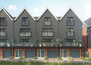 Thumbnail 4 bedroom town house for sale in Parkview At Springhead Park, Northfleet, Gravesend