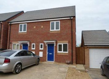 Thumbnail 2 bed terraced house to rent in Libertas Drive, Stanground, Peterborough