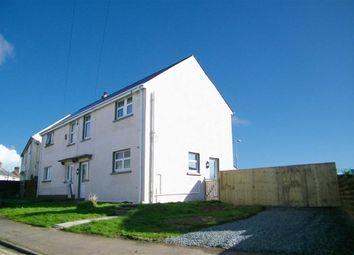 Thumbnail 3 bed semi-detached house for sale in Glebelands, Hakin, Milford Haven