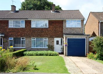 Thumbnail 4 bed semi-detached house for sale in Shamrock Close, Frimley