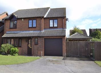 Thumbnail 4 bed detached house for sale in Hammond Close, Thatcham, Berkshire
