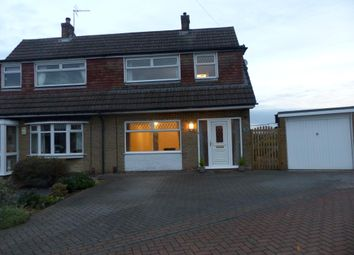 Thumbnail 3 bed semi-detached house to rent in Wysall Close, Mansfield