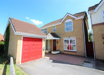 Thumbnail 4 bed detached house for sale in Longfellow Close, St Andrews Ridge, Swindon