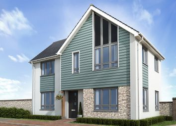 Thumbnail 3 bed end terrace house for sale in The Shiphay, Plantation Way, Torquay, Devon
