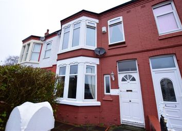 Thumbnail 4 bed terraced house for sale in Kingsway, Wallasey, Wirral